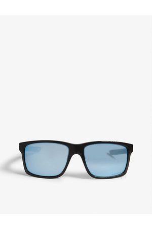 Oakley Mens OO9264 Mainlink Square-frame Sunglasses