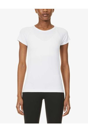 Spanx Womens Look At Me Now Woven T-shirt XS