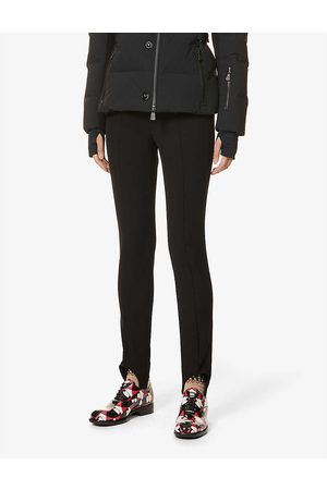 Moncler Womens Regular fit Mid-rise Slim-leg Stretch-woven Trousers 8