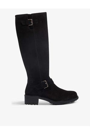Bertie Womens -suede Trust Suede Knee-high Boots EUR 36 / 3 UK Women