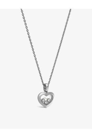 Chopard Womens Happy Diamonds 18ct - and 0.15ct Diamond Necklace