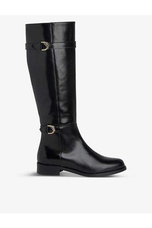 LK Bennett Womens Bla- Bryn Knee-high Leather Boots EUR 35 / 2 UK Women