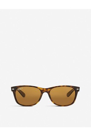 Ray-Ban Mens Rb2132 New Wayfarer Tortoiseshell Sunglasses