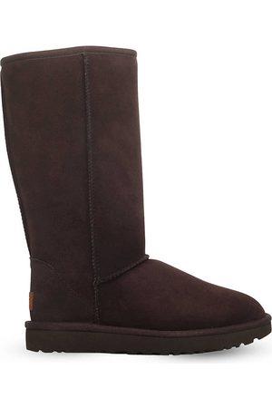 UGG Women High Leg Boots - Ladies Dark Luxury Classic Ii Tall Sheepskin Boots