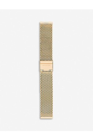 Michael Kors Mens Runway Yellow- Plated Stainless Steel Smartwatch Strap