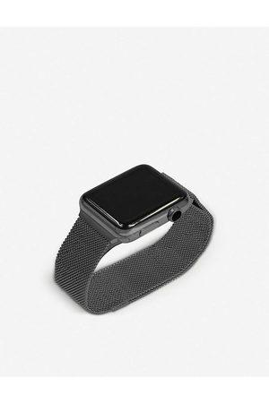 Mintapple Mens Apple Watch Space Grey Milanese Loop Strap 38mm/40mm