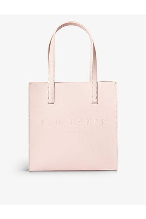 Ted Baker Womens Icon Small Crosshatch Leather Shopper 1 Size