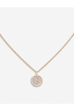MESSIKA Womens Lucky Move 18ct Rose- and Pavé Diamond Necklace