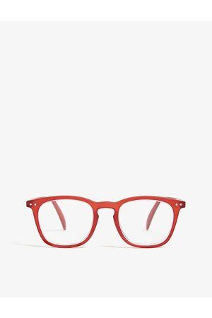 Izipizi Mens #E Reading Square-frame Glasses +2