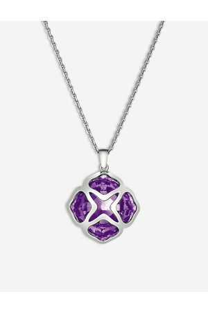 Chopard Women's Imperiale White- And Amethyst Long-Length Pendant Necklace