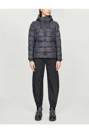 Canada Goose Ladies Embroidered Abbott Shell-Down Jacket