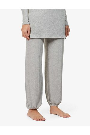 Eberjey Womens Heather Elon Relaxed-fit Mid-rise Stretch-rayon Pyjama Bottoms XS