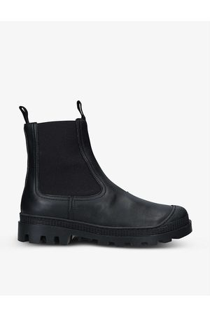 Loewe Womens Chelsea Leather Ankle Boots EUR 41 / 8 UK Women