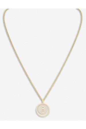 MESSIKA Womens Lucky Move 18ct - and Pavé Diamond Necklace