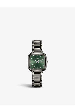 Rado Womens R27077312 True Square Automatic High-tech Ceramic Watch