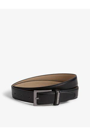 Ted Baker Mens Lizwiz Leather Belt 32
