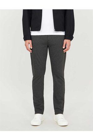 Paige Mens Stafford Stretch-jersey Trousers 33