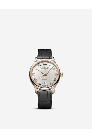 Chopard L.U.C 1937 Classic 18ct rose-gold and alligator-leather watch