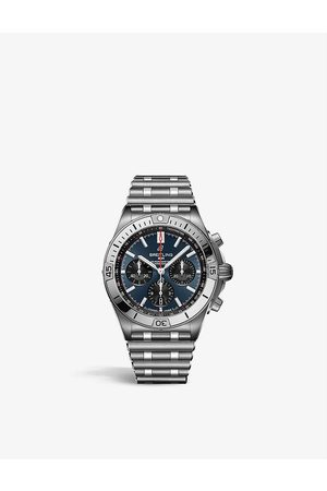 Breitling AB0134101C1A1 Chronomat stainless-steel self-winding mechanical watch