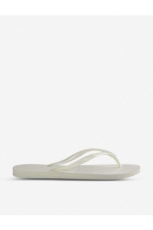 Havaianas Womens Slim Slim Rubber Flip-flops 1/2