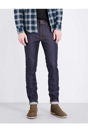 Nudie Jeans Men's Dry 16 Dips Lean Dean Slim-Fit Skinny Jeans