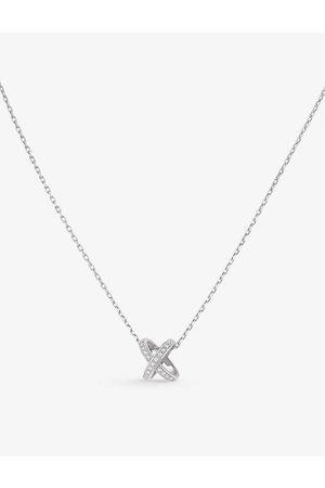 CHAUMET Womens Jeux de Liens 18ct - and Diamond Necklace
