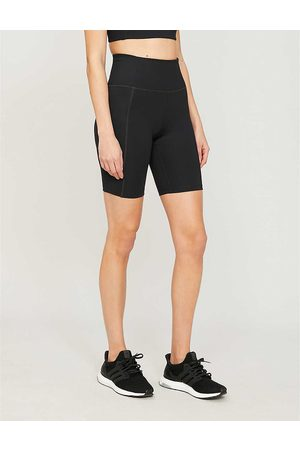 GIRLFRIEND COLLECTIVE Womens High-rise Stretch-jersey Cycling Shorts XS