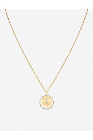 MESSIKA Womens Lucky Move 18ct - and Diamond Necklace
