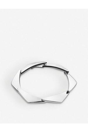 Georg Jensen Womens Peak Sterling Bracelet S/M