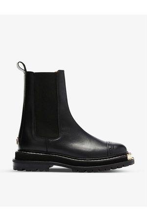 Sandro Womens Liam Leather Chelsea Boots EUR 36 / 3 UK Women
