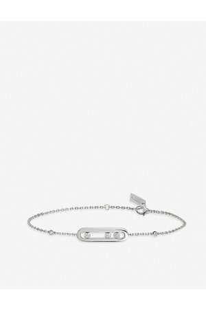 MESSIKA Womens Baby Move 18ct -gold and Diamond Bracelet