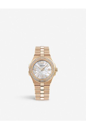 Chopard Womens Alpine Eagle 18ct Rose-gold and Diamond Small Watch