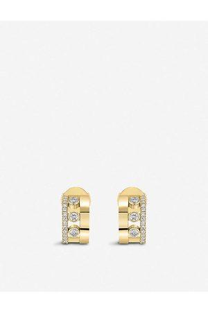 MESSIKA Womens Romane 18ct Rose- and Diamond Mini Earrings