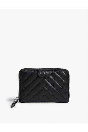 Claudie Pierlot Women Purses & Wallets - Answer quilted leather purse