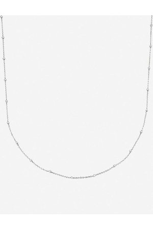 Monica Vinader Womens Sterling Chain Necklace