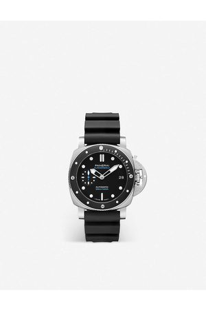 PANERAI Mens PAM00683 Submersible Stainless-steel and Rubber Automatic Watch 1 Size
