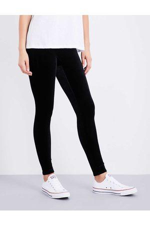 Spanx Womens Velvet Leggings L