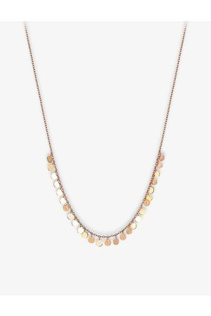 The Alkemistry Womens 14ct Rose Kismet by Milka Circles 14ct Rose- Necklace