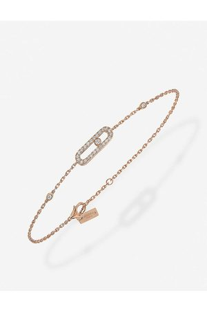 MESSIKA Womens Move uno Diamond Bracelet 18 Carat Gold