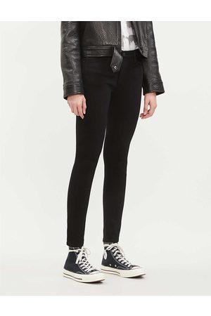 AG Women's Super The Farrah Super-Skinny Mid-Rise Jeans