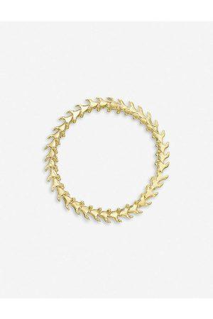 SHAUN LEANE Womens Vermeil Serpent Trace - Vermeil Bracelet M