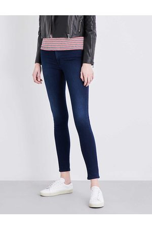 7 for all Mankind Women's Slim Illusion High-Rise Jeans