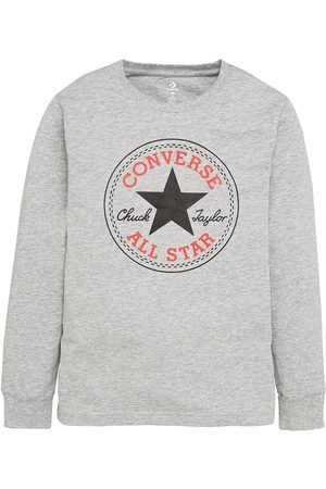 Converse Younger Chuck Patch Long Sleeve Tee