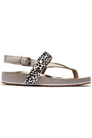 Timberland Women Sandals - Malibu waves sandal for women in leopard print , size 5.5