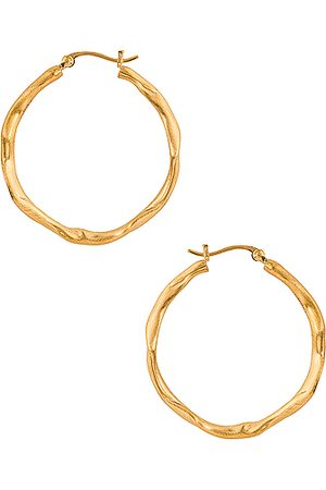 COMPLETEDWORKS Fold Hoop Earrings in