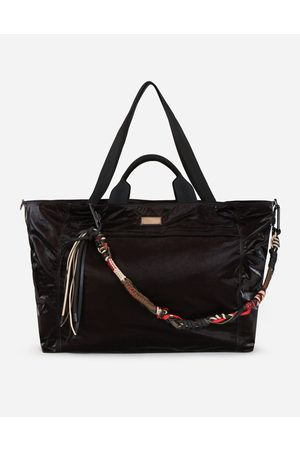 Dolce & Gabbana Men Bags - Collection - NERO SICILIA DNA NYLON TRAVEL BAG WITH BRANDED TAG male OneSize