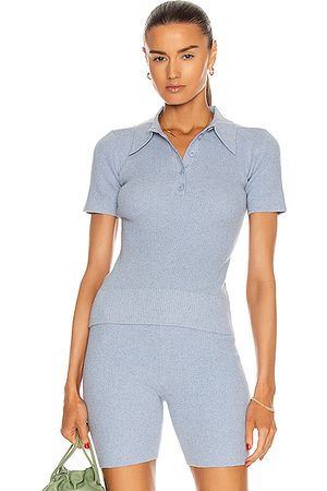 JoosTricot Polo Top in Edgewater