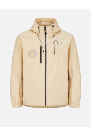 Evisu Men Jackets - Engineered Panel Windbreaker Jacket