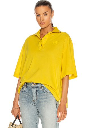 Loewe Oversize Anagram Polo Top in