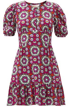 La DoubleJ Women Printed Dresses - Coquette Kaleidoscope-print Dress - Womens - Multi